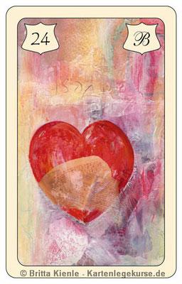 Nr. 24 Herz - Liebe, Herzlichkeit