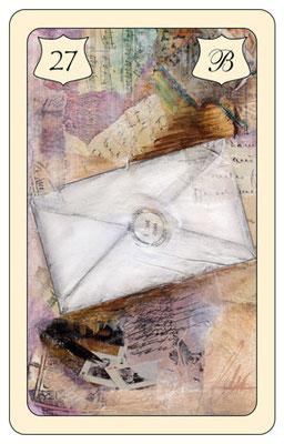 Nr. 27 Brief -  schriftlicher Kontakt  (Post, Verträge), Fax, E-Mail,  Telefon, SMS, schneller Kontakt  ist unterwegs