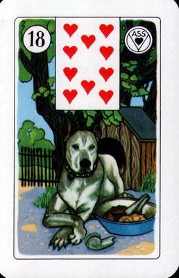 Nr. 18 Hund - Kind, Sohn, Tochter (männlich veranlagt), Bruder, Freund, junger Mann, Liebhaber