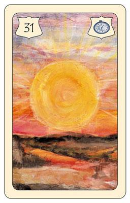 Die Kraft der Sonne, die Energie, die Lebensfreude, die uns den dringend benötigten Ausgleich bringt, steht heute im Mittelpunkt. Lassen Sie sich Zeit, atmen Sie tief durch und lassen Sie den Dingen ihren Lauf. Der Erfolg wird sich einstellen.