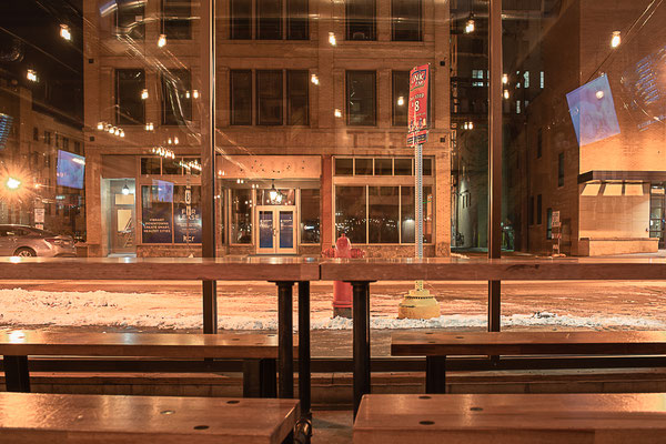 04.04.2018. The German Würst Beer Hall. Fargo, North Dakota