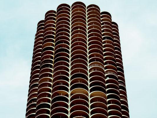 The Hunter. Marina City, Chicago, Illinois