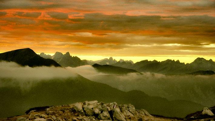 Red Skies Over Paradise. Jochgrimm Passo Oclini