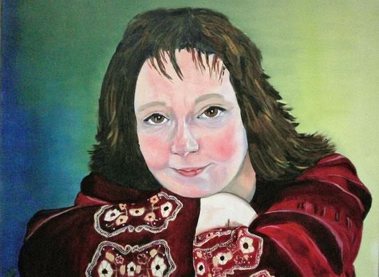 Zelfportret 40x50 cm 2005
