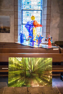 Hansjörg Hörseljau Fotos/ Johanna Junk Glaskunst
