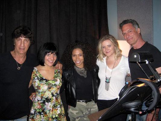 Recording Session with Gary Catona, Aubrey Logan, Nick Milo, Kara Britz