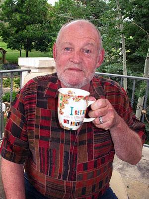 Joe Cocker at home