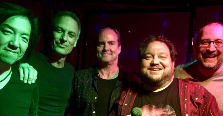 Toshi Yanagi, Jimmy Earl, Chris Rocha, Joe Travers, Wednesday night at Backstage Bar and Grill, Culver City