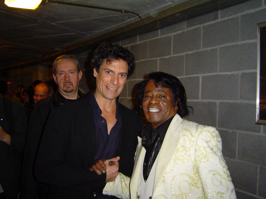 Nick Milo and James Brown
