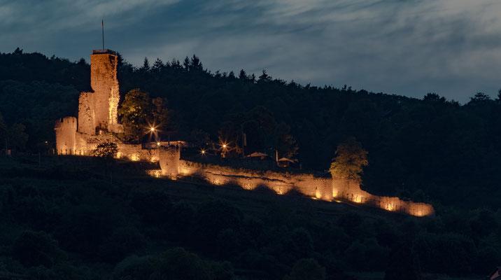 Wachtenburg im Lichterglanz