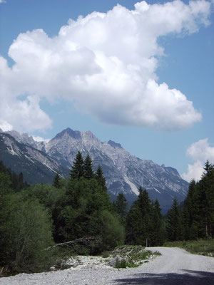 Landschaft Petersbergalm