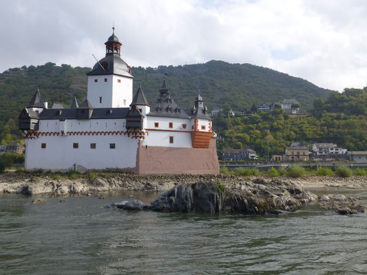 Zollburg Pfalzgrafstein Kaub