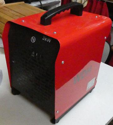 3 kW Industrieheizlüfter