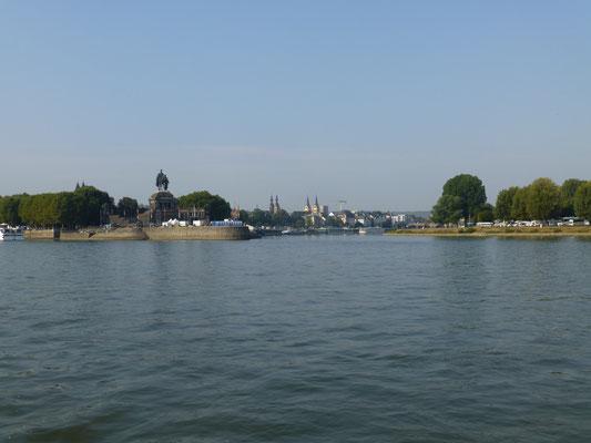 Koblenz, Moselmündung
