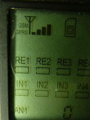 Signalstärkeanzeige am Elbro SMS-Butler
