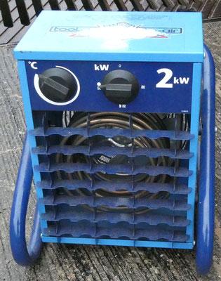 2 kW Industrieheizlüfter