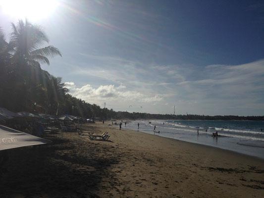 Der Strand von Cabarete