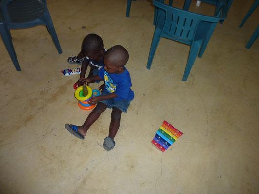 Kinderbetreuung in der Kirche