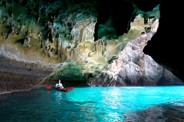 Grotte Bans la baie de Phang gna (Thaïlande)