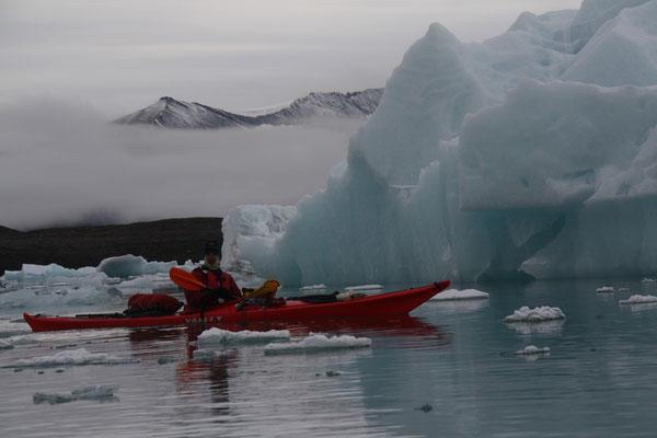 Glaciers au Spitzberg