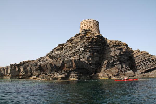 Tour Anglaise ( côte Nord de Minorque).