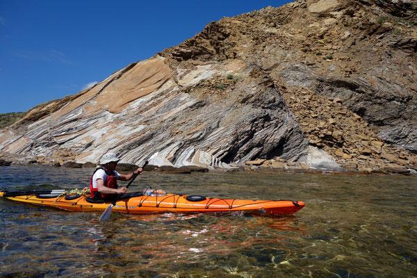Kayak de mer à Minorque (côte Nord)