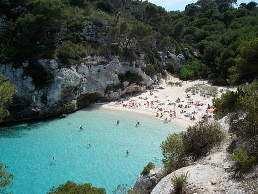 Macarelleta ( côte sud de Minorque)