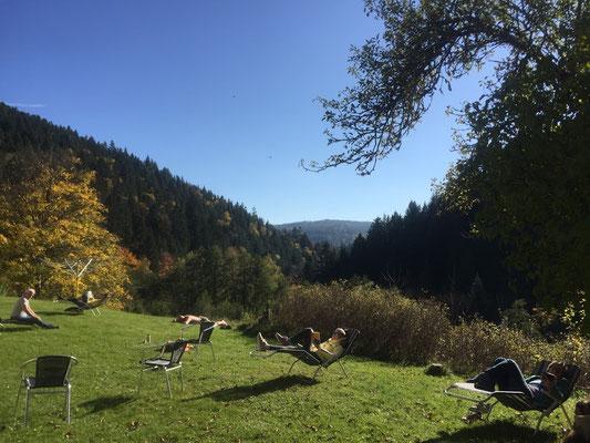 Yogareise Schwarzwald