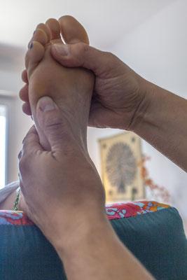 Réflexologue au Centre du Lys  - © Bahareh Ghanimati