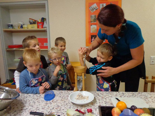 Workshop mit Kindergartenkindern