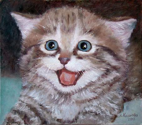 Татьяна Казакова. Я страшная тигра