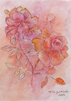 Татьяна Казакова. Романтичный розовый