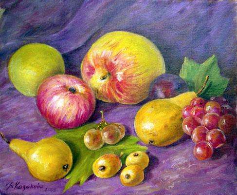Татьяна Казакова. Солнечные плоды