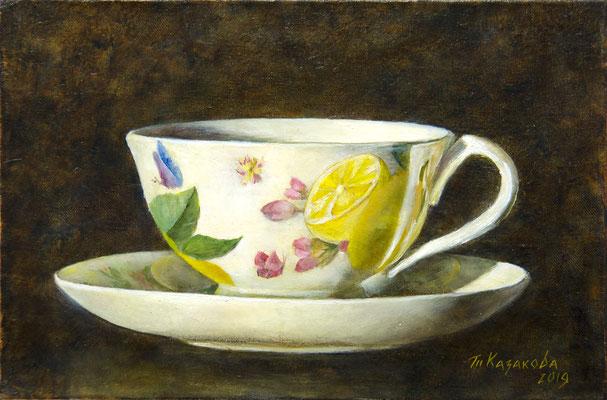 Татьяна Казакова. Чашка в профиль