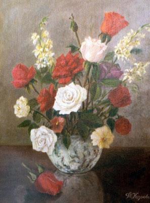 Татьяна Казакова. Розы