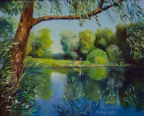 Татьяна Казакова. Тихое озеро