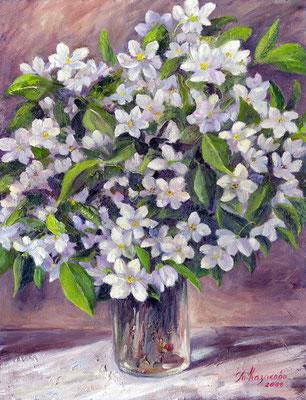 Татьяна Казакова. Боярышник цветёт