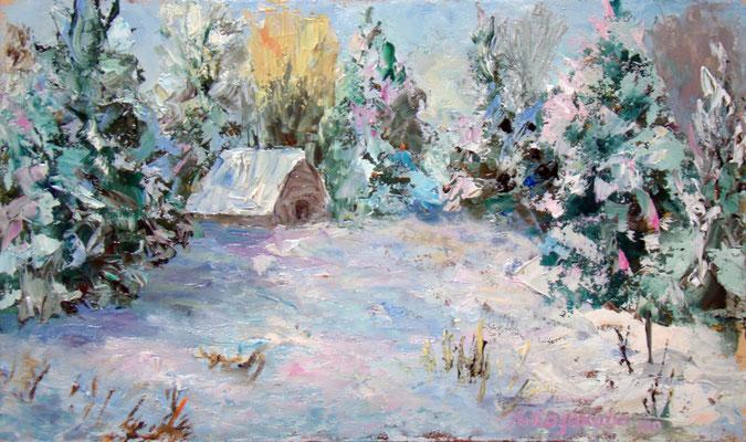 Татьяна Казакова. Зимняя сказка (3)
