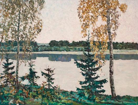 Венир Кныжов. Тишина, 60х80 см.