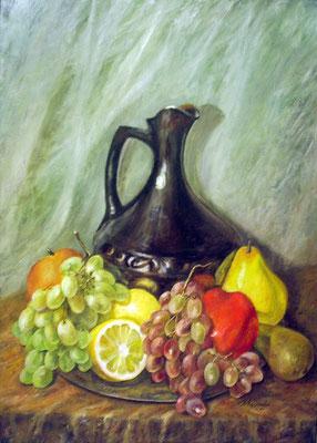 Татьяна Казакова. Натюрморт с виноградом