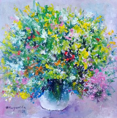 Татьяна Казакова. Цветы полевые