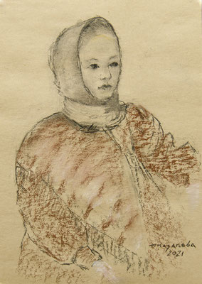 Татьяна Казакова. На крылечке