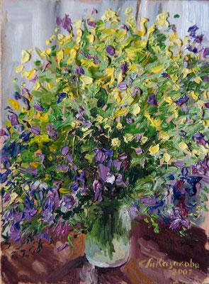 Татьяна Казакова. Полевые цветы