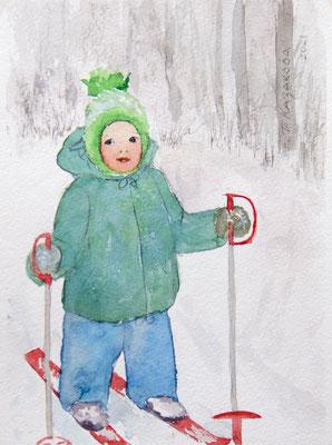 Татьяна Казакова. Лыжню!