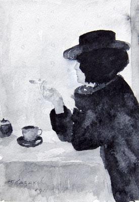 Татьяна Казакова. Чашка чая