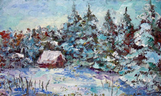 Татьяна Казакова. Зимняя сказка (2)