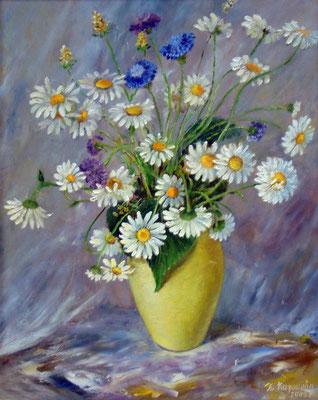 Татьяна Казакова. Жёлтая ваза