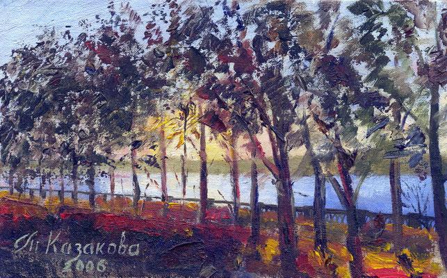 Татьяна Казакова. Осенний вечер (1)