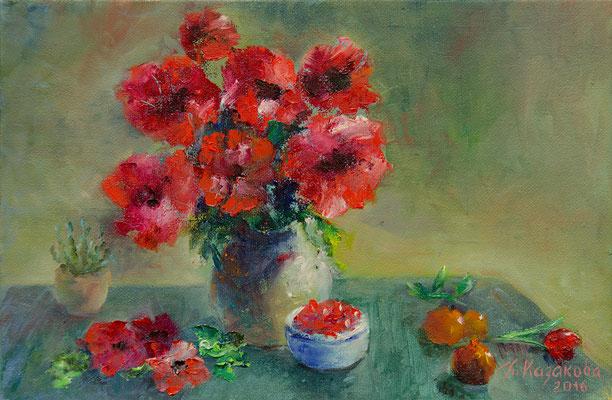 Татьяна Казакова. Маков цвет