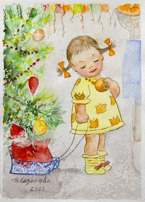 Татьяна Казакова. Мой сладкий апельсин